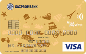 Карта путешественника Visa Gold
